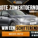 Win een KIA Stonic met het toernooi van Magicwins.be