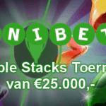 Double Stacks Toernooi van €25.000,- bij Unibet Casino België