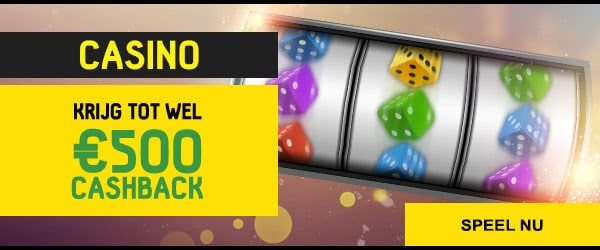 Krijg tot wel 500 euro cashback bij Betfirst Casino
