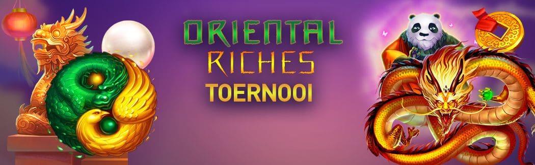 Oriental Riches Toernooi bij Casino777.be