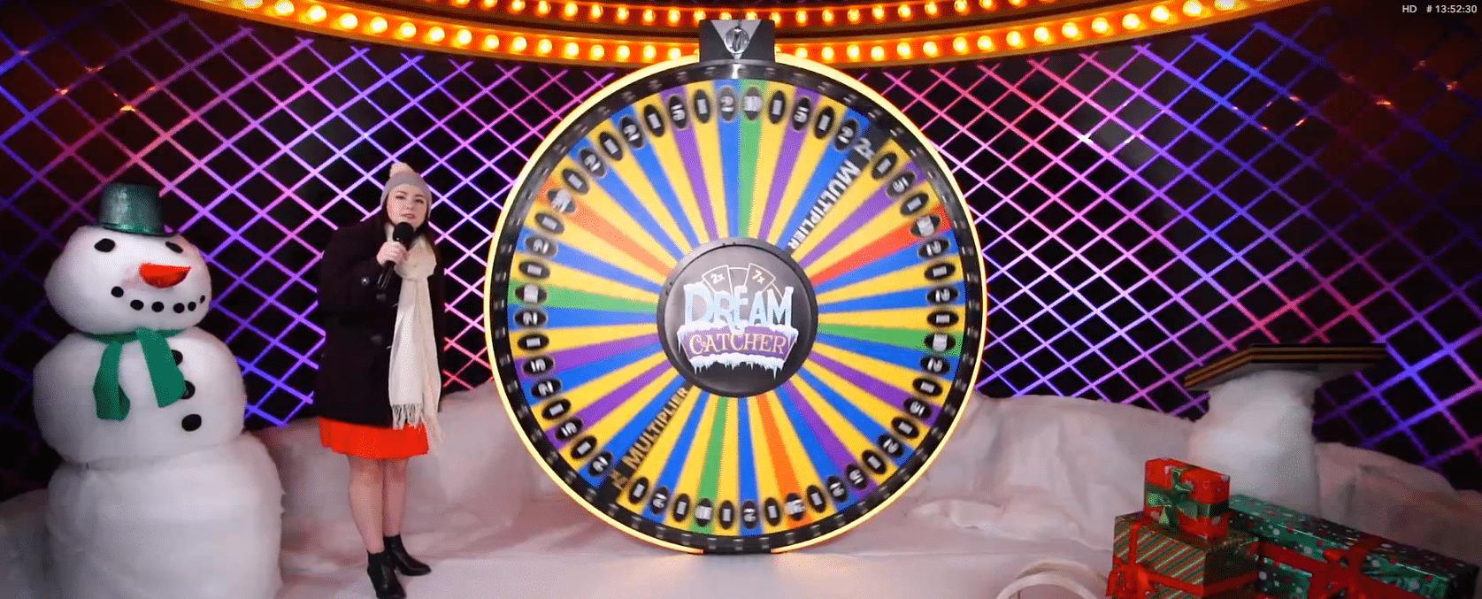 Dream Catcher winter bij Casino777.be