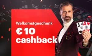 Live Casino cashback Napoleon Games