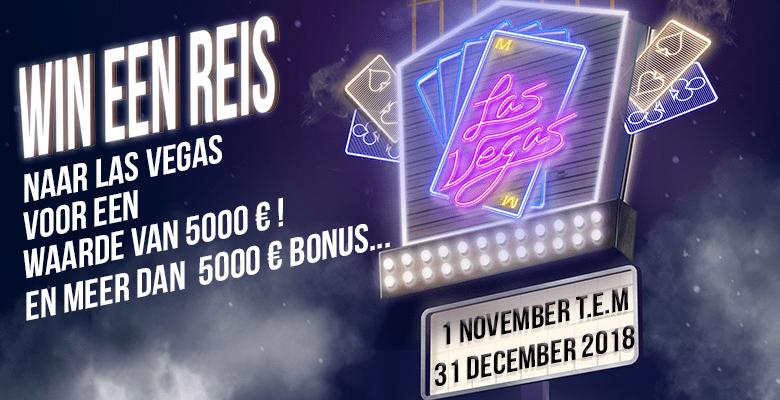 Maak kans op een reis naar Las Vegas bij het einde jaars toernooi van Magic Wins