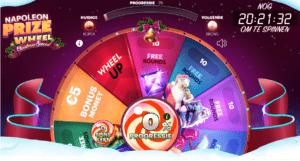 Napoleon Prize Wheel Christmas Special