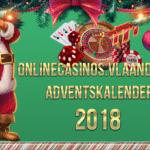 Onlinecasin.Vlaanderen advenstkalender 2018