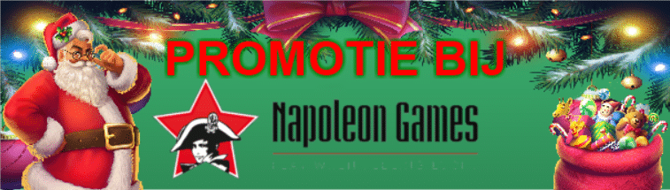 kertspromotie bij Napoleon Games