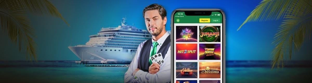 Maak kans op een Casino-cruise met zakgeld bij Unibet Casino