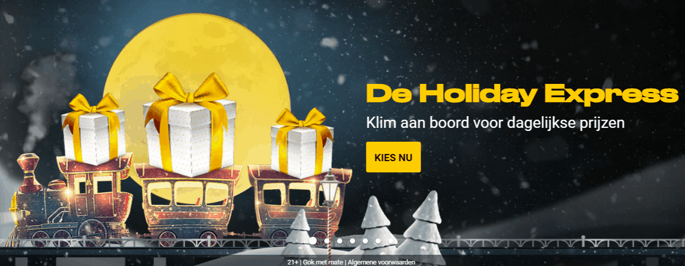 De Holiday Express van Bwin.be