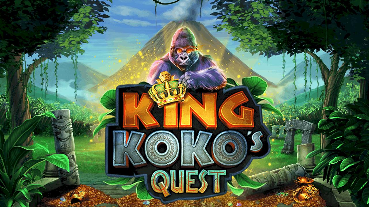 """Nieuwe release Pariplay """"King Koko's Quest"""" videoslot"""